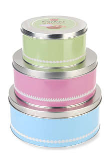 TALA Set of three cake tins