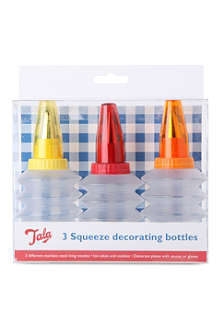 TALA Tala three-piece squeeze decorating icing bottles