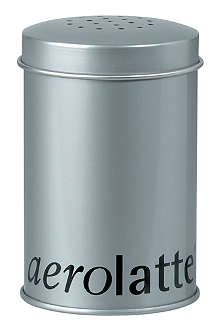 EDDINGTONS Aerolatte Chocolate Shaker Tin