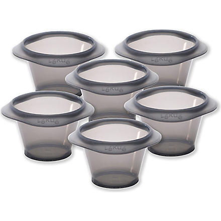 LEKUE Six individual muffin moulds