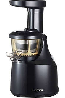 HUROM Pro Series Black HU-400 juicer