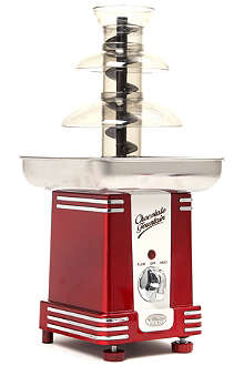 NOSTALGIA ELECTRICS Retro Series chocolate fondue fountain