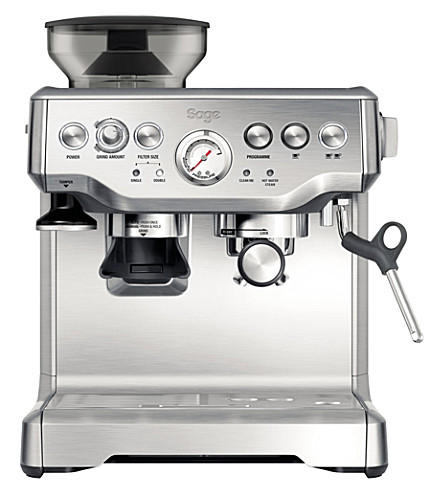 SAGE BY HESTON BLUMENTHAL Barista Express coffee machine with built-in grinder