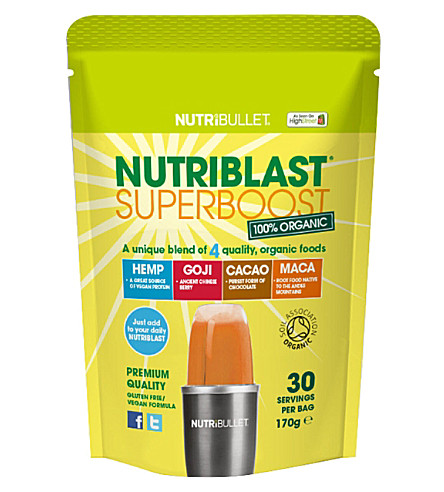 NUTRIBULLET Nutriblast superboost superfood blend