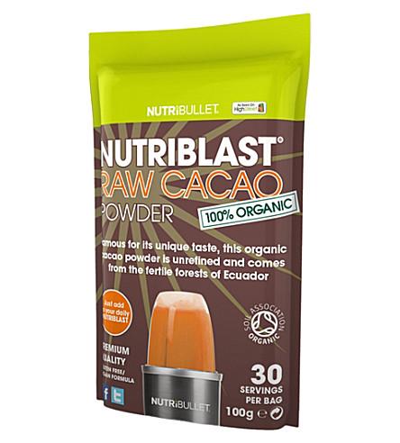 NUTRIBULLET Nutriblast raw cacao superfood supplement