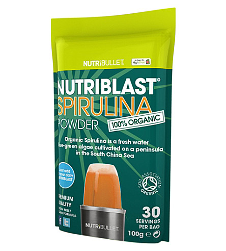 NUTRIBULLET Nutriblast spirulina superfood supplement