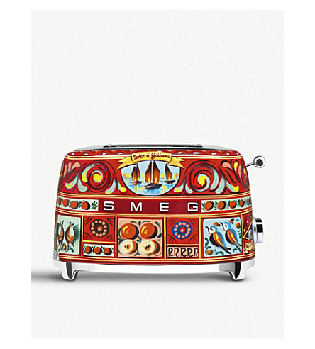 SMEG Smeg x Dolce & Gabbana TSF01 2 Slice Toaster