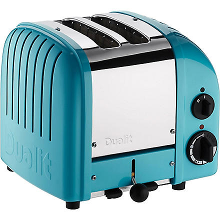DUALIT Vario two-slice toaster (Azure+blue