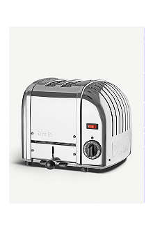 DUALIT Vario two–slice toaster polished chrome