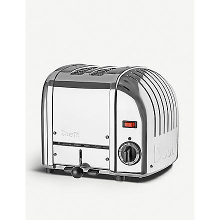 DUALIT Classic two-slice toaster (Silver