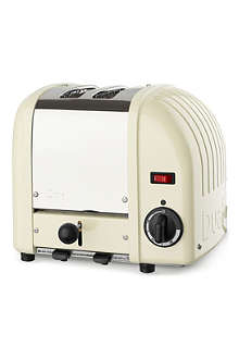 DUALIT Vario two–slice toaster cream