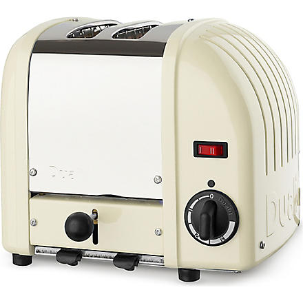DUALIT Classic two–slice toaster (Cream