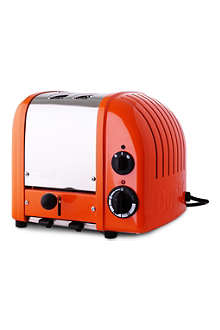 DUALIT Vario two–slice toaster exclusive orange