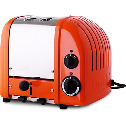 DUALIT Vario two–slice toaster exclusive orange (Orange