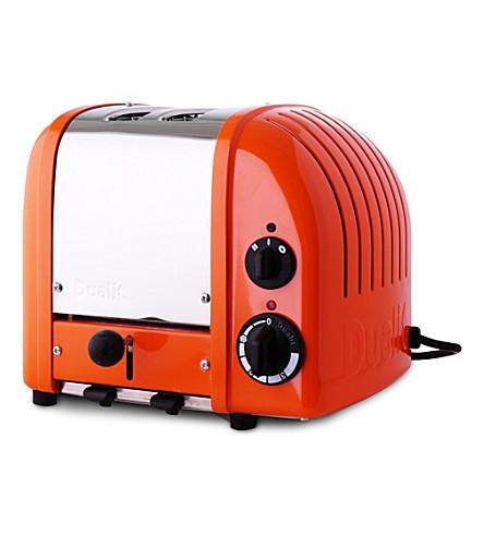 DUALIT Vario two–slice toaster exclusive orange (Orange