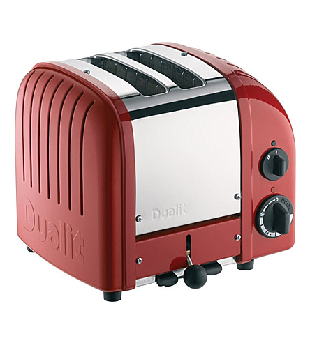 DUALIT Classic two-slice toaster (Red