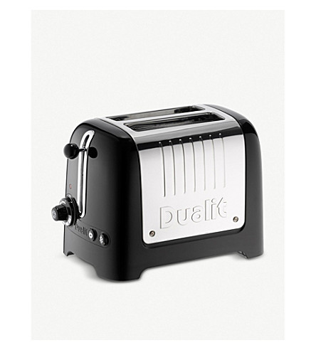 DUALIT Lite two-slice toaster (Black
