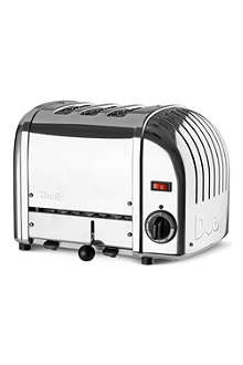 DUALIT Classic three-slice toaster