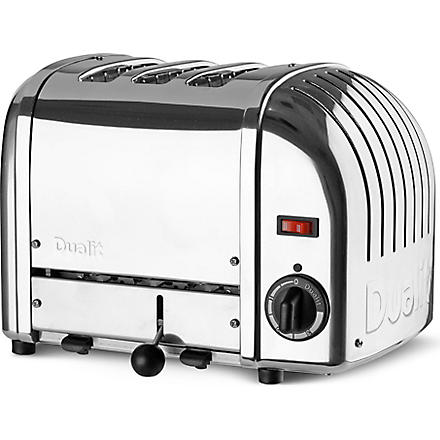 DUALIT Classic three-slice toaster (Silver