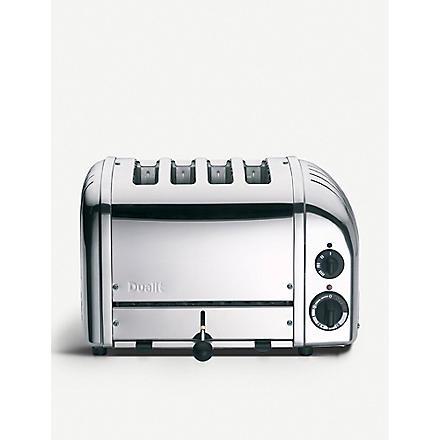 DUALIT Classic four-slice toaster