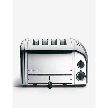 DUALIT Classic four-slice toaster (Silver