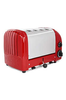 DUALIT Classic four-slice toaster