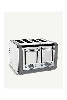 DUALIT Architect four-slice toaster