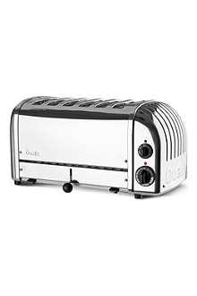 DUALIT Vario six slice toaster