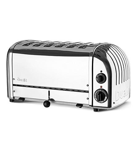 DUALIT Vario six slice toaster (Silver