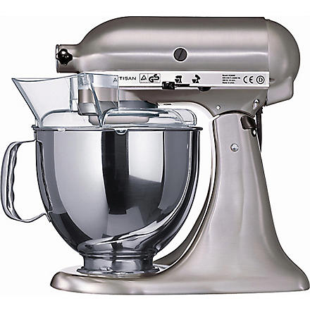 KITCHEN AID Artisan mixer brushed nickel (Black+nickel
