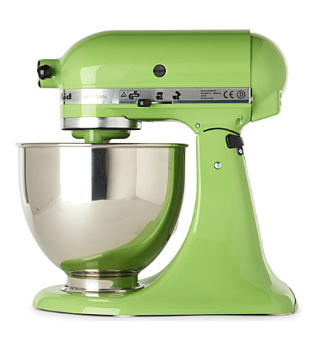 kitchenaid artisan mixer green apple selfridges com