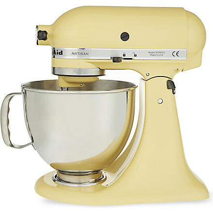 KITCHEN AID Artisan mixer majestic yellow (Yellow