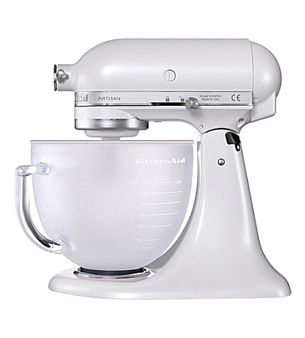 KITCHENAID Limited Edition Artisan mixer frosted pearl glass