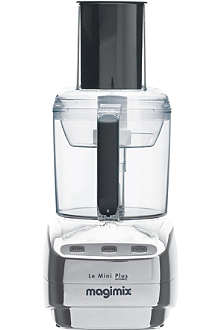 MAGIMIX Le Mini Plus chrome food processor