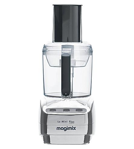 MAGIMIX Le Mini Plus chrome food processor