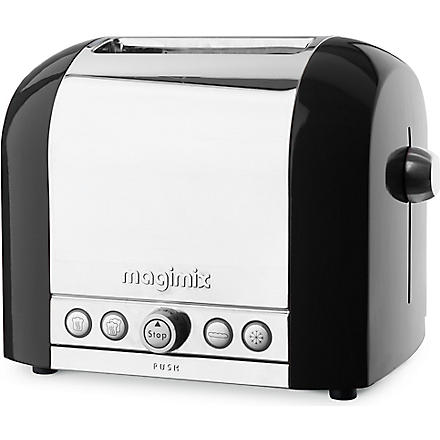 MAGIMIX Two slice toaster (Black