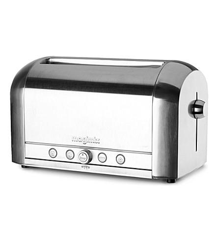 Oven toaster delonghi steel stainless 6slice