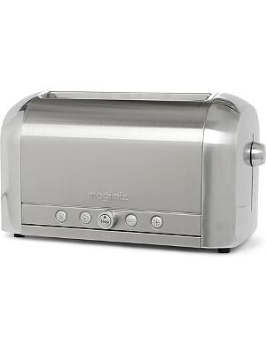 MAGIMIX Four slice polished toaster