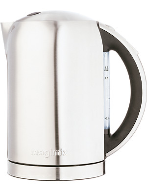 MAGIMIX Double skin brushed kettle 1.8 litres