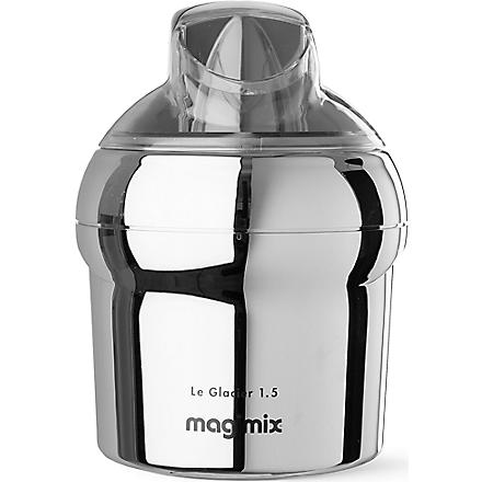 MAGIMIX Le Glacier ice cream maker 1.5 litre (Chrome