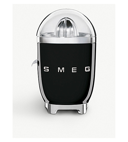 SMEG Smeg black citrus juicer (Black