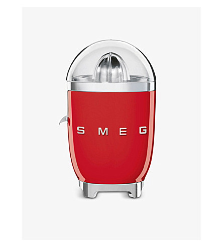 SMEG Smeg red citrus juicer