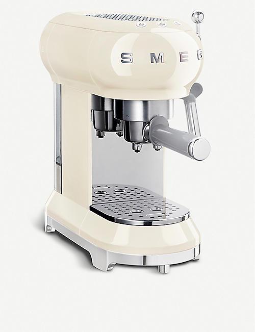 smeg smeg cream espresso machine