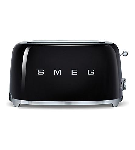 SMEG Smeg black 4-slice toaster