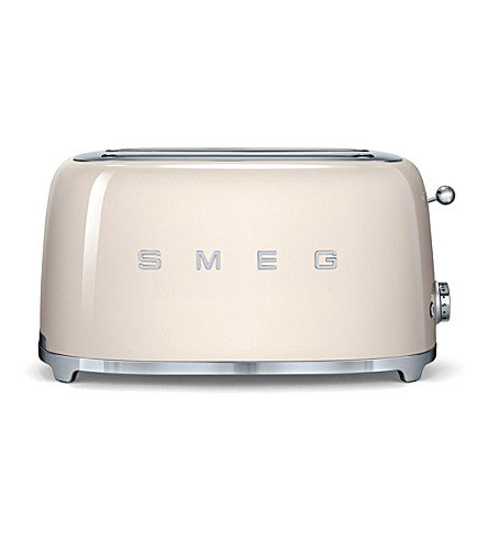 SMEG Smeg cream 4-slice toaster (Cream