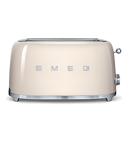 SMEG Smeg cream 4-slice toaster