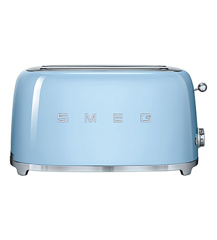 SMEG Smeg pastel-blue 4-slice toaster