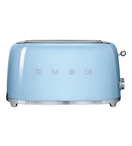 SMEG Smeg pastel-blue 4-slice toaster (Pastel+blue