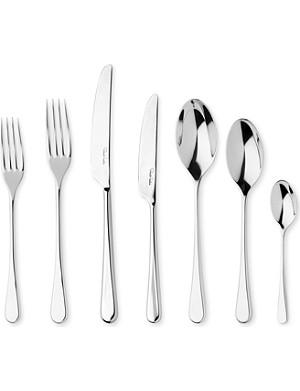 ROBERT WELCH Iona mirrored stainless steel seven-piece cutlery set