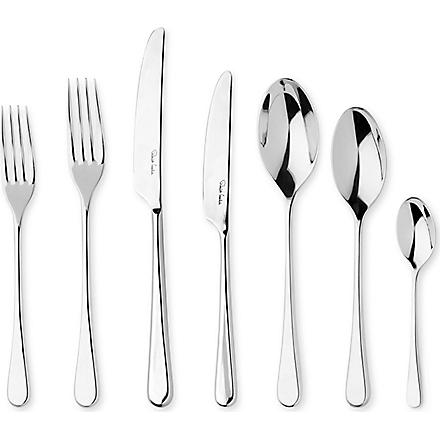 ROBERT WELCH Iona mirrored stainless steel seven-piece cutlery set